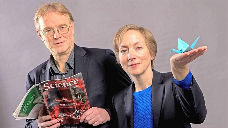 Professor Dr. Jürgen Scheffran und Professor Dr. Ursula Schröder