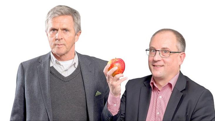 Prof. Dr. med. Klaus-Michael Braumann und Prof. Dr. Sascha Rohn