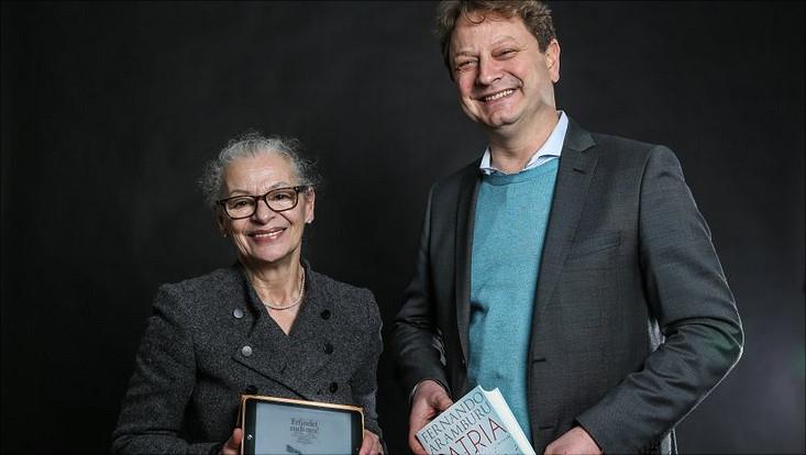 Prof. Dr. Gabriele Beger und Prof. Dr. Michel Clement