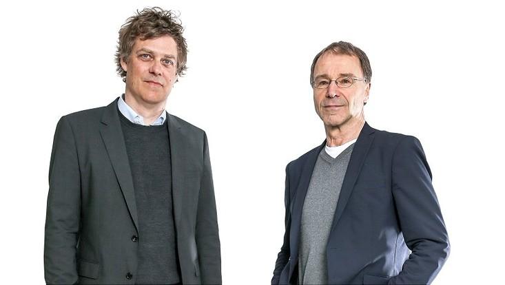 Strafrechtler Florian Jeßberger und Rechtsphilosoph Reinhard Merkel