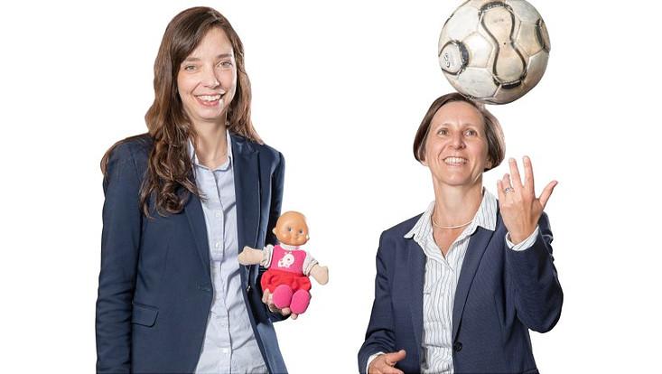 Jun.-Prof. Dr. Esther Diekhof und Dr. Katinka Schweizer (UKE)